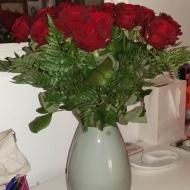 Roser fra mine forældre/min far